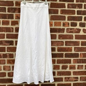 Lined banana republic maxi skirt. NWT!